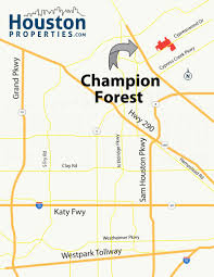 Tx Zip Code Map by Best Guide To Champion Forest Houston Homes For Sale