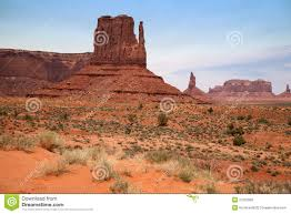 Monument Valley Utah Map by Famous Monument Valley Desert Canyon In Utah Usa Stock