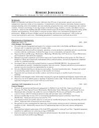 restaurant general manager resume summary eliolera com