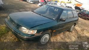 green subaru hatchback subaru legacy 1992 1 8 mechaninė 4 5 d 2015 10 06 a2405 used car