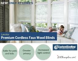 Levolor Cordless Blinds Troubleshooting Levolor Faux Wood Cordless Blinds