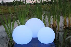 Glow In The Dark Gazing Ball Solar Glow Ball Led Solar Ball Lamp For Garden Pools Youtube