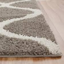 Plastic Carpet Runner Walmart by Mainstays Ogee 2 Color Shag Area Rug Or Runner Walmart Com
