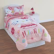 Hello Kitty Duvet Hello Kitty Twin Bed Set With White Frame Hello Kitty Twin Bed