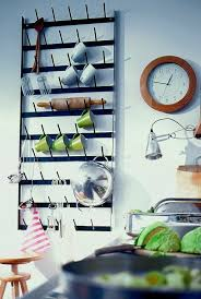 kitchen wall storage ideas mug wall kitchen storage ideas