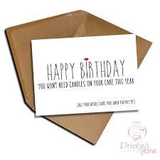 cheeky birthday card boyfriend folksy
