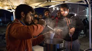 how volunteers are feeding refugees in greece one makeshift how volunteers are feeding refugees in greece one makeshift kitchen at a time