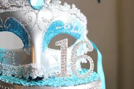 sweet 16 cake topper masquerade mask rhinestone sweet 16 cake topper turquoise and
