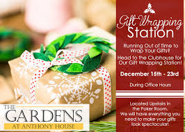 present wrapping station appealing the gardens at anthony house gift wrapping station th
