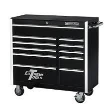 Husky Side Cabinet Tool Box Extreme Tools 16 In 3 Drawer 1 Shelf Standard Side Cabinet Blue