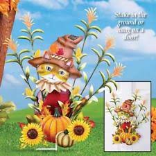 harvest decorations fall harvest decorations yard stick scarecrow yardstick 48 inch