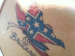 rebel flag cross tattoo tattoo collections
