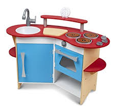 amazon com melissa u0026 doug cook u0027s corner wooden pretend play toy
