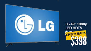 tv for sale black friday inch lg 49lb5550 led tv to sell for 398 in walmart cyber monday