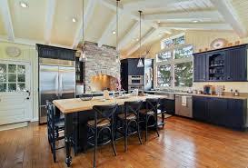 Kitchen With Black Cabinets 25 Cottage Kitchen Ideas Design Pictures Designing Idea