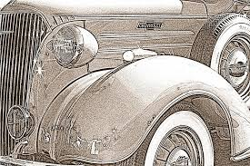 1937 chevrolet pickup truck pencil sketch photograph by randall