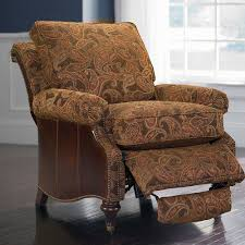 Reclining Chair And A Half Leather Oxford Recline Bassett Home Furnishings