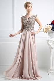 elegant prom dress with flowing skirt cdcr721