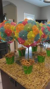luau table centerpieces 101 easy to make baby shower centerpieces babies luau theme and