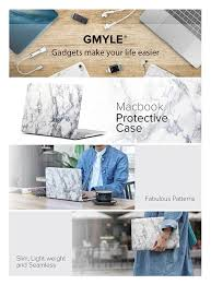 amazon black friday mac book air amazon com gmyle white marble macbook air 13 inch case soft touch