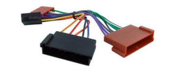 ford iso car stereo radio wiring harness loom adaptor lead amazon