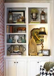 shelf decorating ideas braided rugs hut