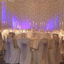 wedding backdrop stand uk white led starlight wedding backdrop with overlay 6mx3m