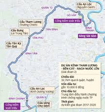 Tre Map Anti Flooding Projects In Ho Chi Minh City Halted Following Oda