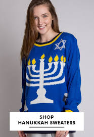 light up hanukkah sweater ugly christmas sweaters for men women ragstock com