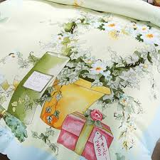 light blue flowers pink light blue flowers bedding set ebeddingsets