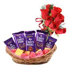 chocolate basket buy online cadbury chocolate basket online chocolate shop in india