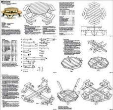 Free Hexagon Picnic Table Plans Pdf by Best 25 Octagon Picnic Table Ideas On Pinterest Picnic Table