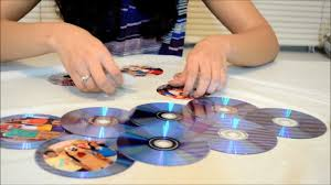 how to make a photo frame out of waste cds youtube
