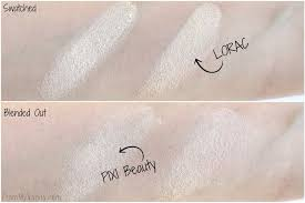 Pixi Light Dupe Or Dud Lorac Light Source Highlighter Vs Pixi Beauty Glow Y