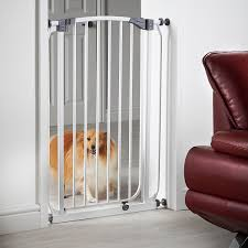milo u0026 misty extra tall 100cm pet gate with 72 82cm high