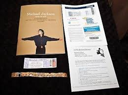 michael jackson funeral program michael jackson collectibles michael jackson memorial service