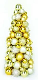 northlight shades of gold shatterproof ornament