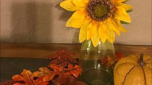 dollar tree diy 3 fall centerpiece decor youtube
