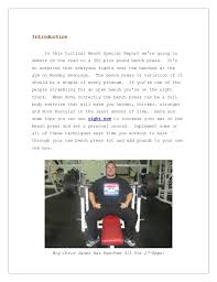 Tips To Increase Bench Press How To Increase Your Bench Press Fast