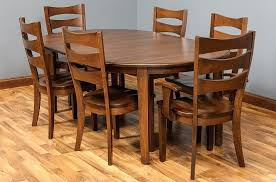 amish dining room table best dining tables images on color combos amish room modern chairs