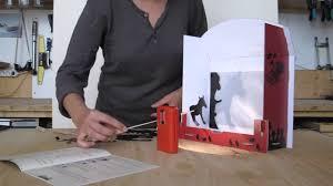 comment fabriquer un arbre a chat théâtre d u0027ombres en carton youtube