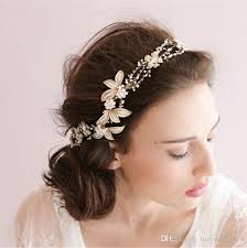 lace headwear so beautiful gold headwear for wedding embroidery lace flower