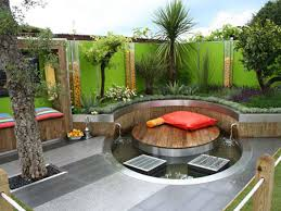 home decor exterior pool landscaping designs modern garden