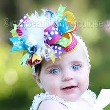 baby bow boutique buy big boutique bright rainbow polka dot the top hair