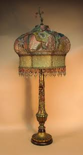 antique floor lamps u0026 beaded victorian lamp shades by antique