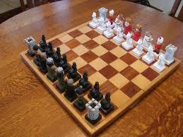 carved chess set u2013 carverdale