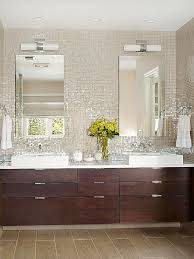 Bathroom Mosaic Tile White Backsplash Ideas Master Bath - Bathroom mosaic tile designs