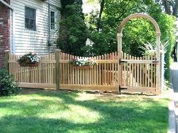 Ideas For Fencing In A Garden Small Garden Fencing Modern Privacy Fences Garden Panel Designs