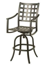 Outdoor Swivel Bar Stool Stratford Outdoor Swivel Bar Stool