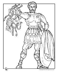 fantasy jr greek myths coloring u2013 perseus memoria press